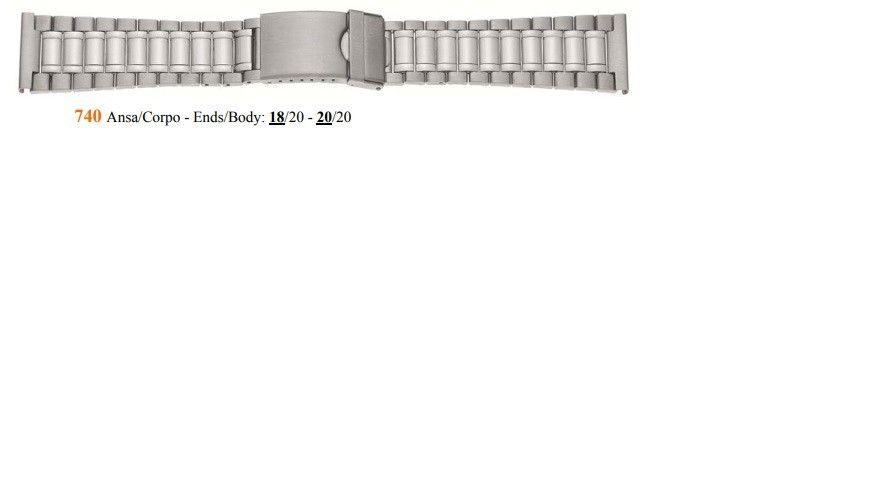 Cinturino Metallo 740