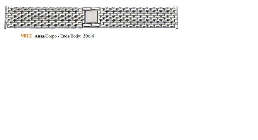 Cinturino Metallo 9012