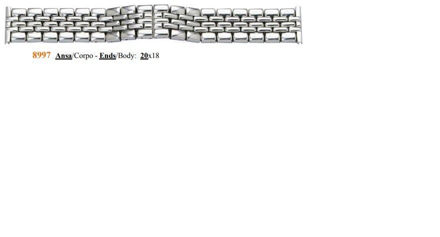 Cinturino Metallo 8997