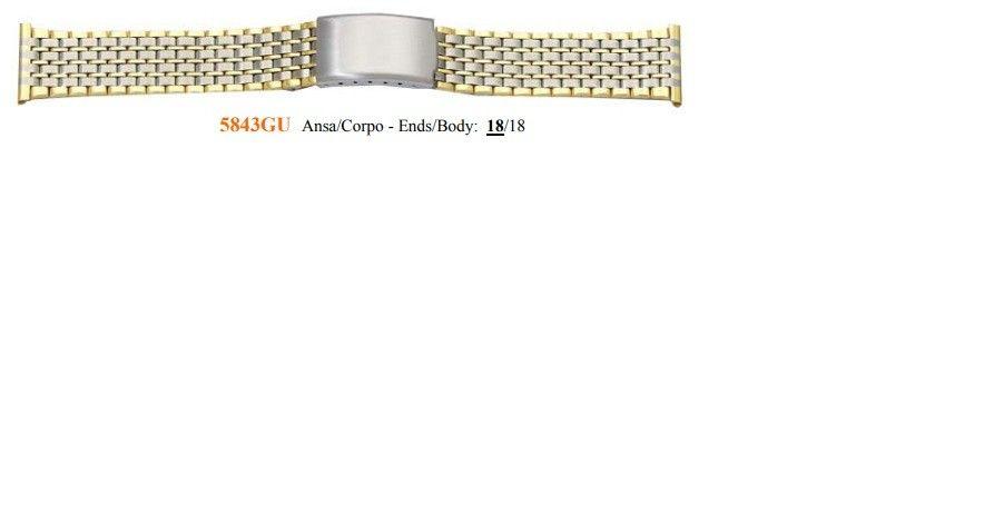 Cinturino Metallo 5843GU