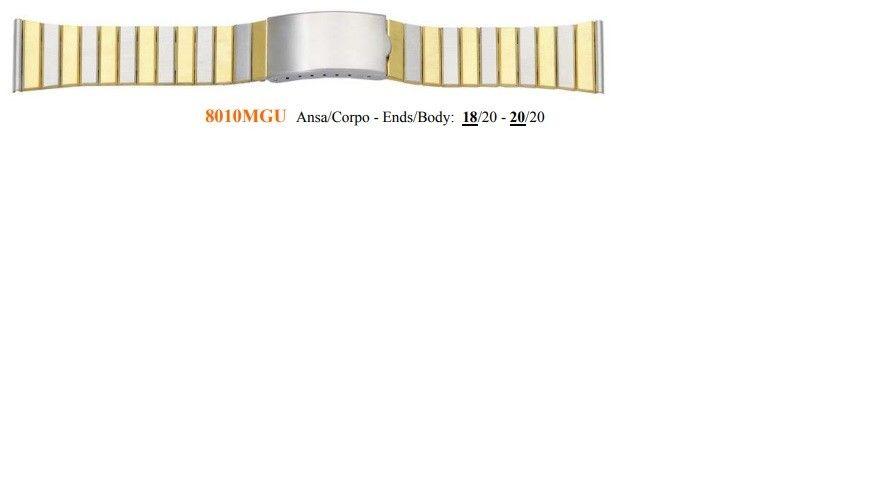 Cinturino Metallo 8010MGU