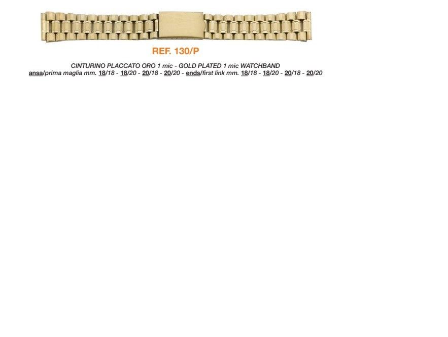 Cinturino Metallo 130P