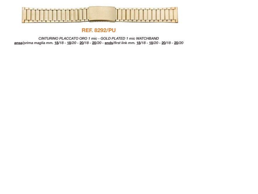 Cinturino Metallo 8292PU