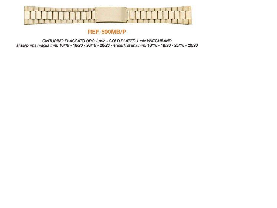 Cinturino Metallo 590MBP