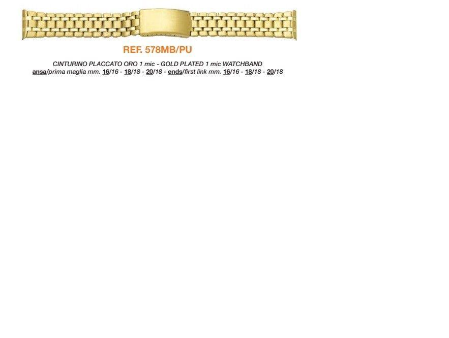 Cinturino Metallo 578MBPU
