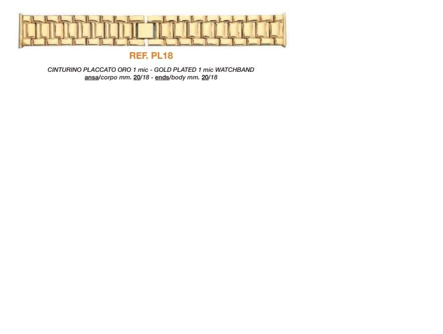 Cinturino Metallo PL18