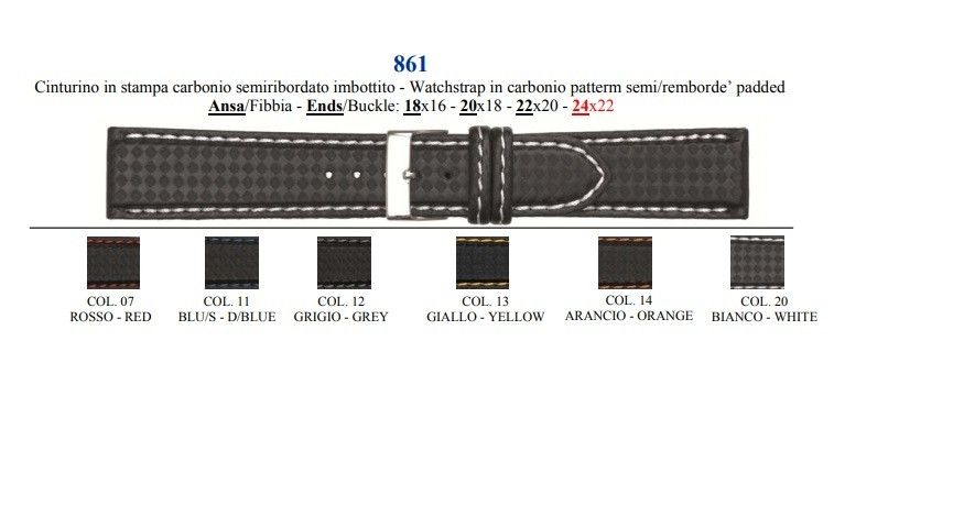 Cinturino Lorica 861