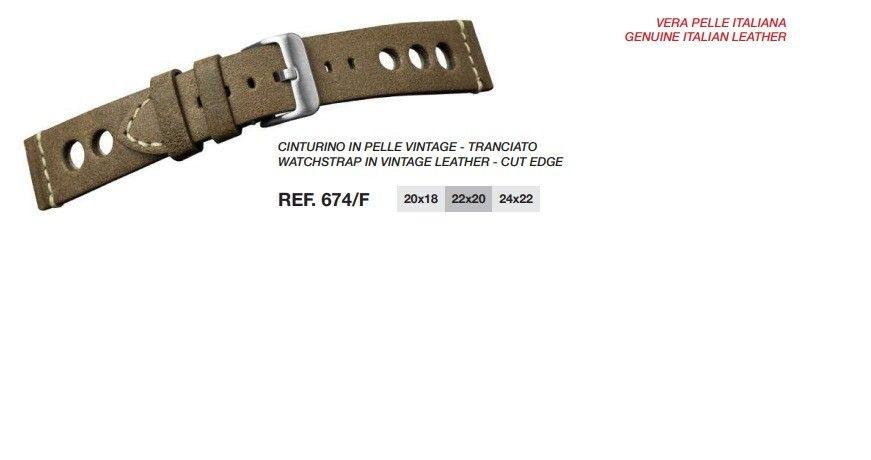 Cinturino Pelle 674F