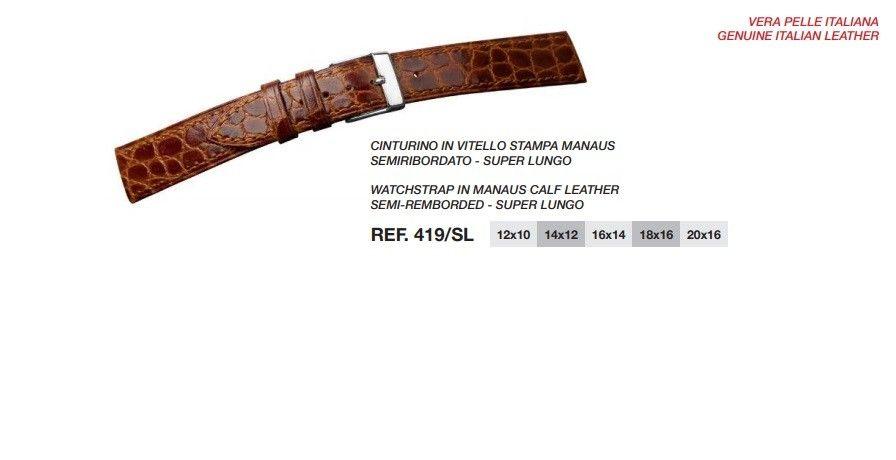 Cinturino Pelle 419SL