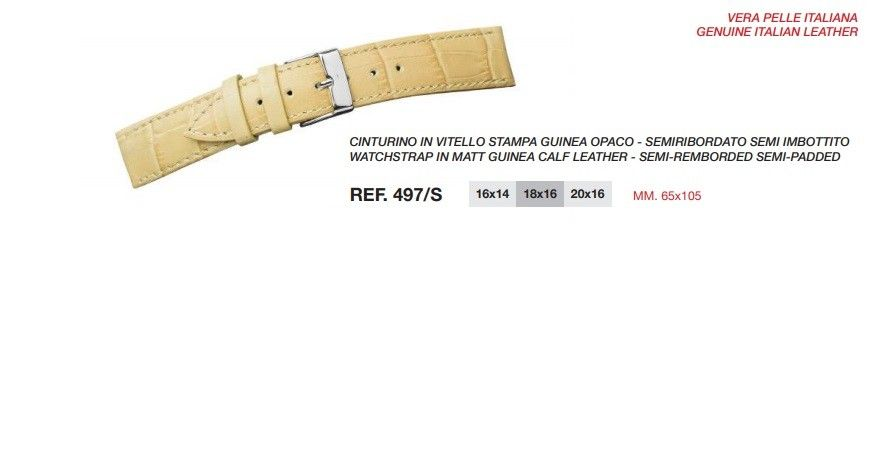 Cinturino Pelle 497/S
