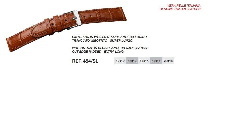 Cinturino Pelle 454SL