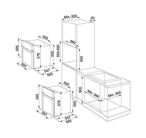 Franke Smart glass SG 62 M GF/N Forno elettrico 63L A Grafite | Prodotti  Elettrodomestici da incasso Forni | Shop Online: Stac s.r.l.