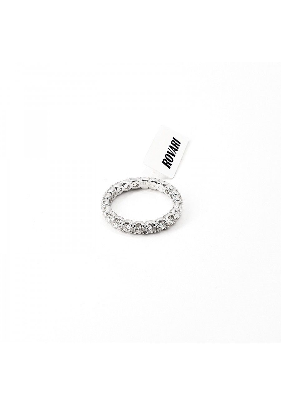 Anello Eternity Lineare 2,85CT