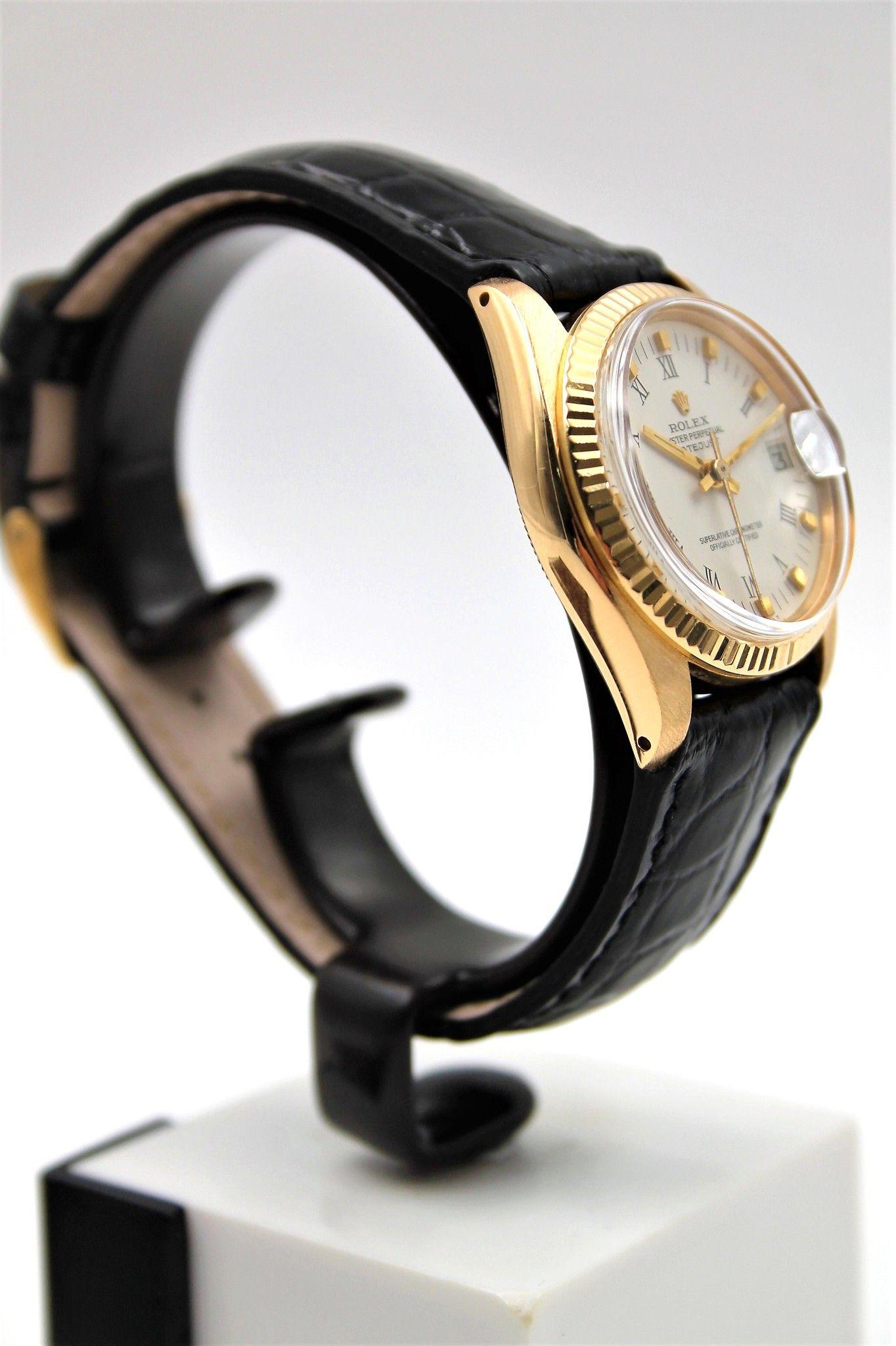 selezione migliore e6b4e c66bc Rolex Datejust 6827 Oro Giallo