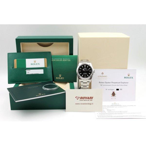 Rolex Explorer I 214270 Limited Edition Golf Club xx/90