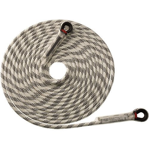 IRIDIUM 11 mm 5 m WITH LOOPS - Corda semi-statica