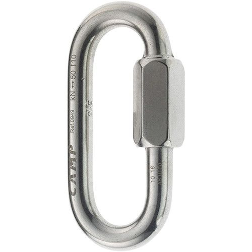 OVAL QUICK LINK STAINLESS 10 mm - Maglia rapida