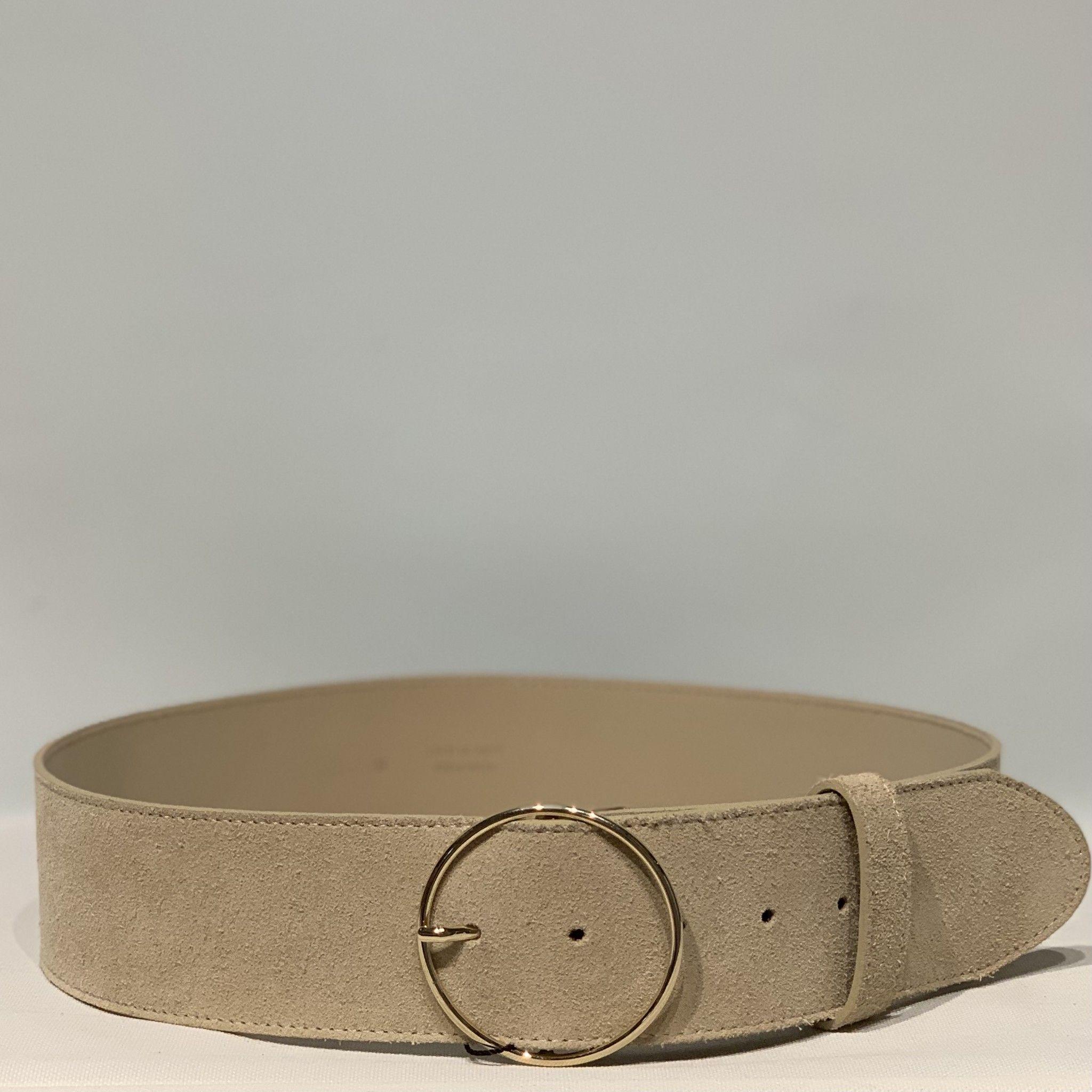 Cintura camoscio PELLETTERIA G4