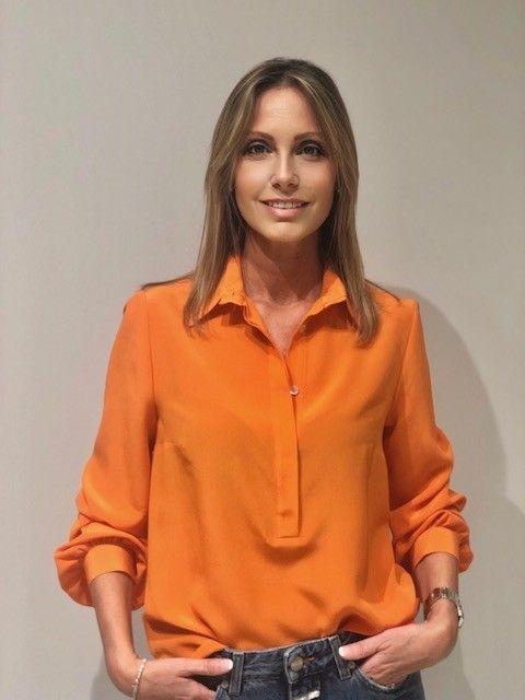 Camicia polo arancio NG71