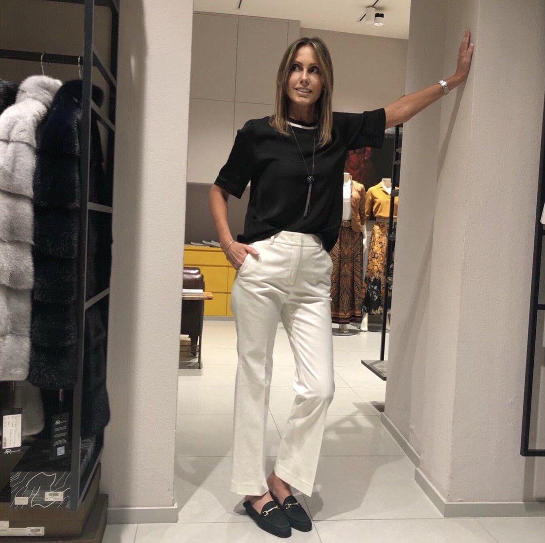 Pantalone bianco CAPPELLINI