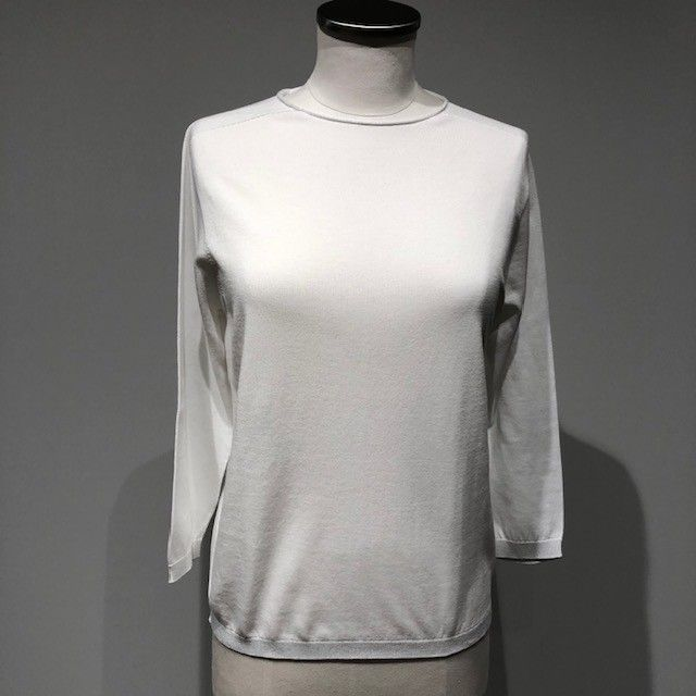 Maglia tricot bianco CAPPELLINI
