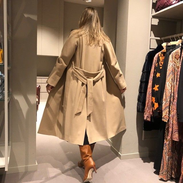Cappotto cammello CHIARULLI