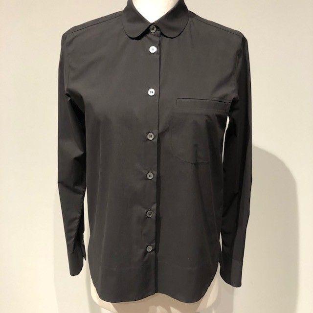 Camicia cotone nera GUGLIELMINOTTI