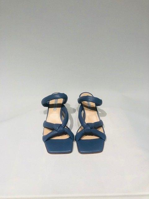 Sandalo nappa azzurro LE VIOZZI