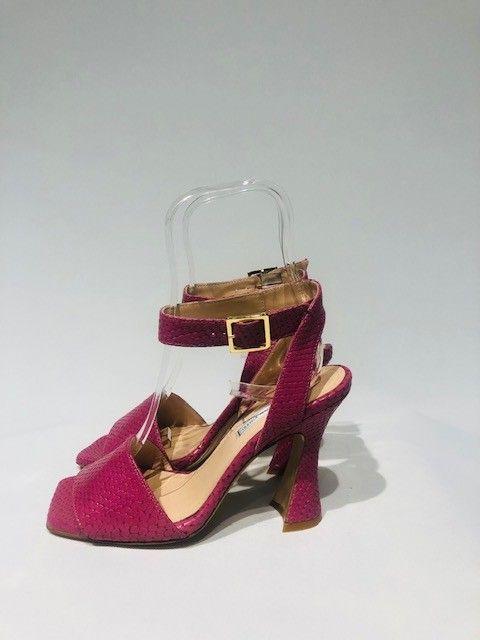 Sandalo tacco lilla LE VIOZZI