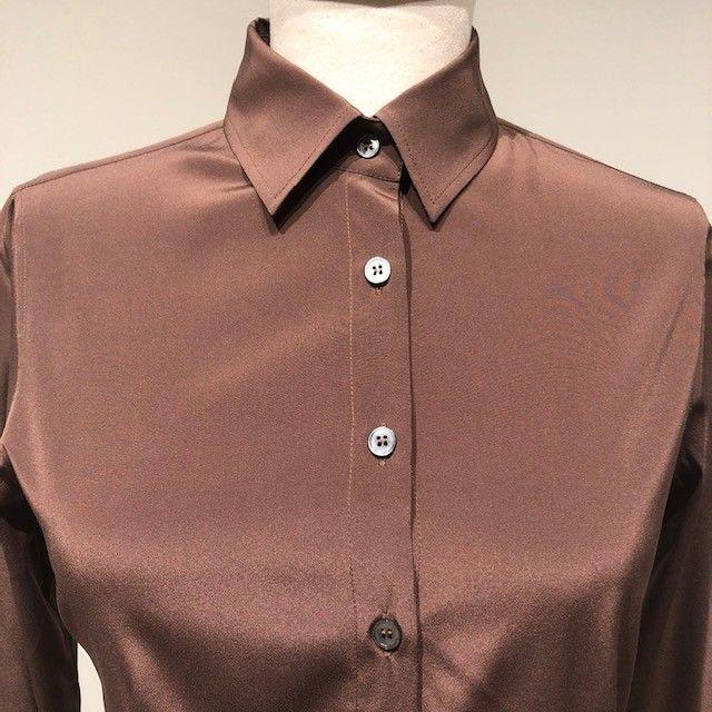 Camicia marrone GUGLIELMINOTTI