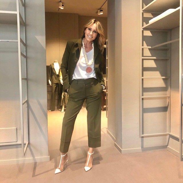Pantalone verde Angela NG71 3514