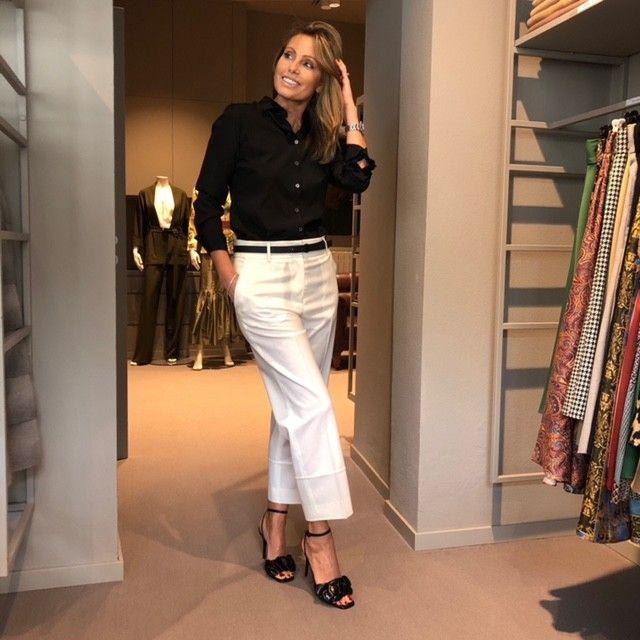 Pantalone panna Angela NG71 3516