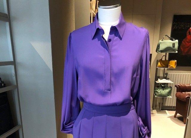 Camicia lilla Katia NG71