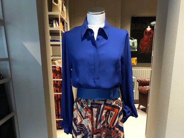 Camicia bluette Katia NG71
