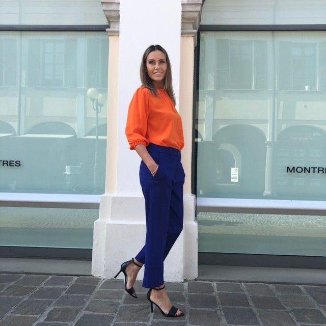 Camicia arancio Martina NG71