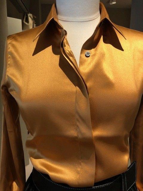 Camicia cammello seta GUGLIELMINOTTI 3635