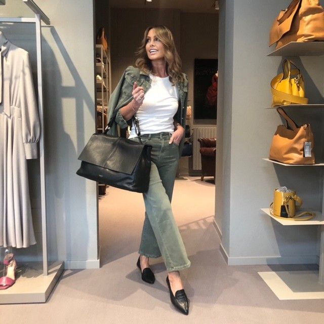 Jeans verde MARTINELLY