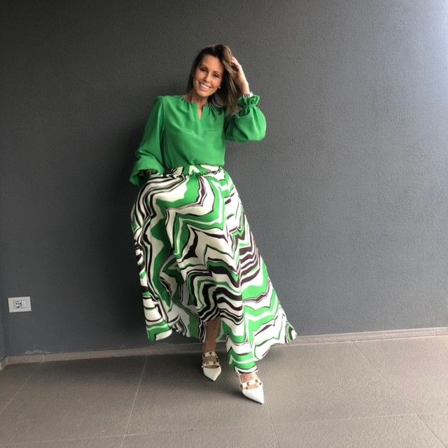 Camicia Arianna verde NG71