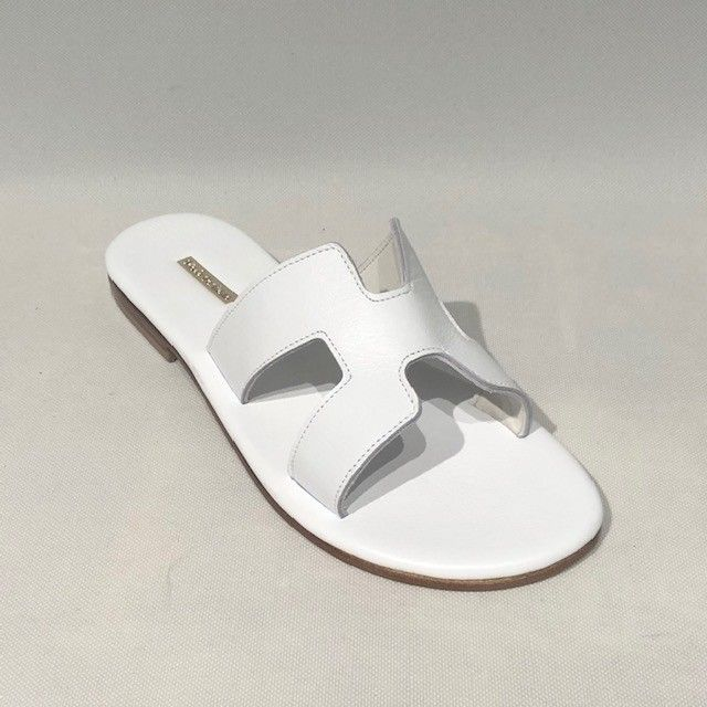 Sandalo bianco POSITANO