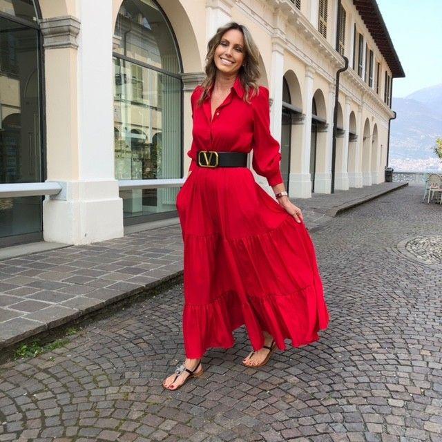 Abito Lorenza rosso NG71