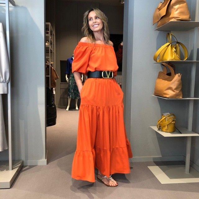 Top Cristina arancio NG71