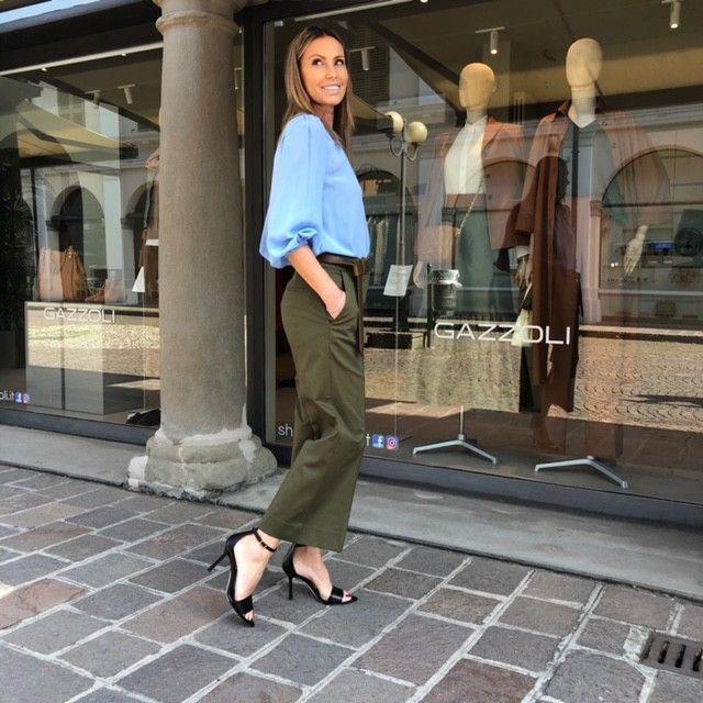 Pantalone Luisa muschio NG71