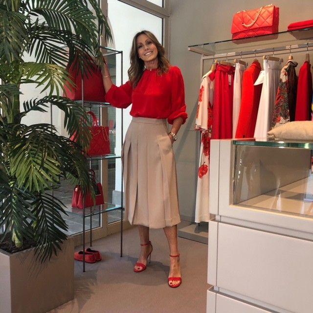 Camicia Martina rosso NG71