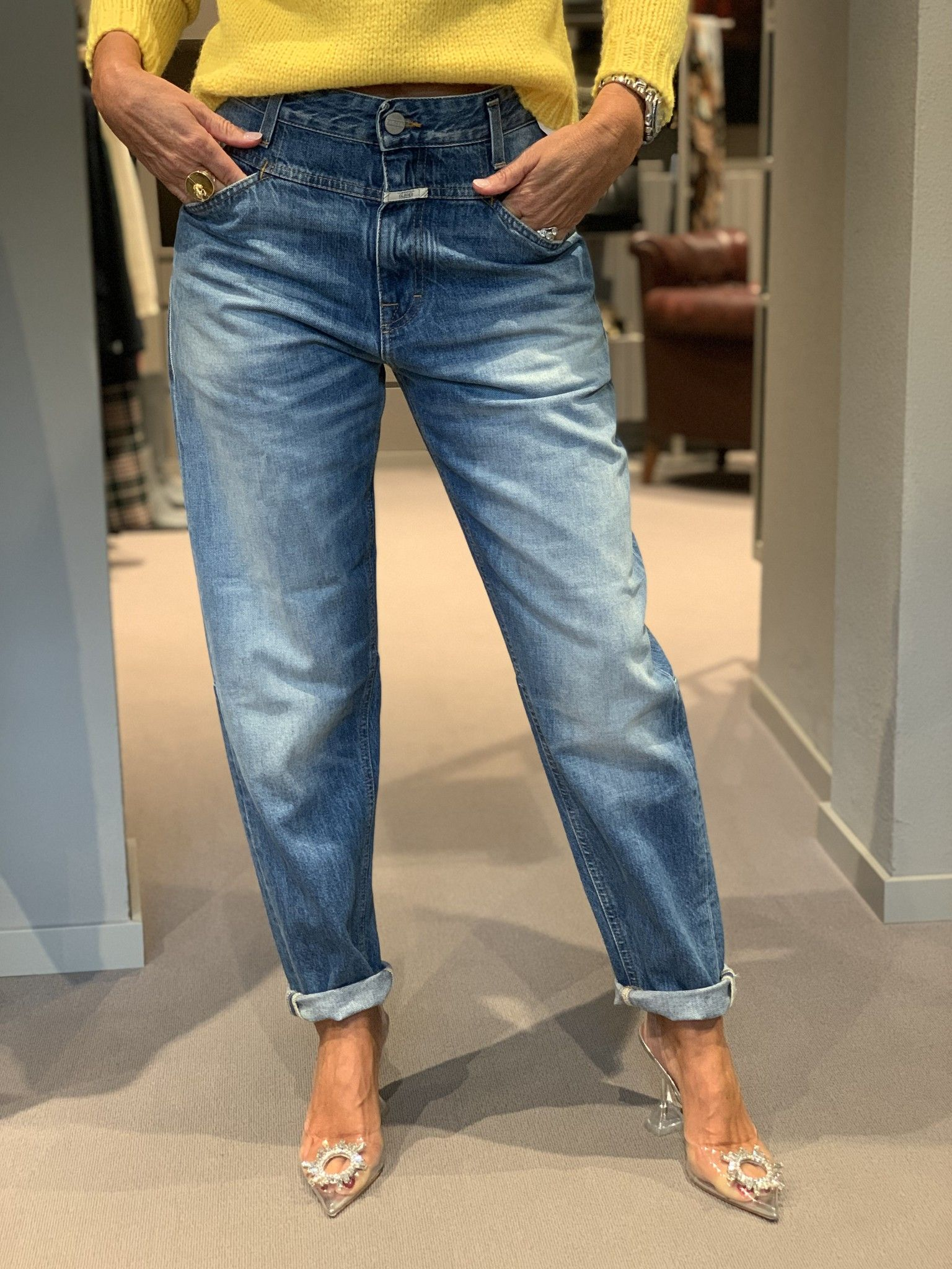 Jeans CLOSED boyfriend azzurri
