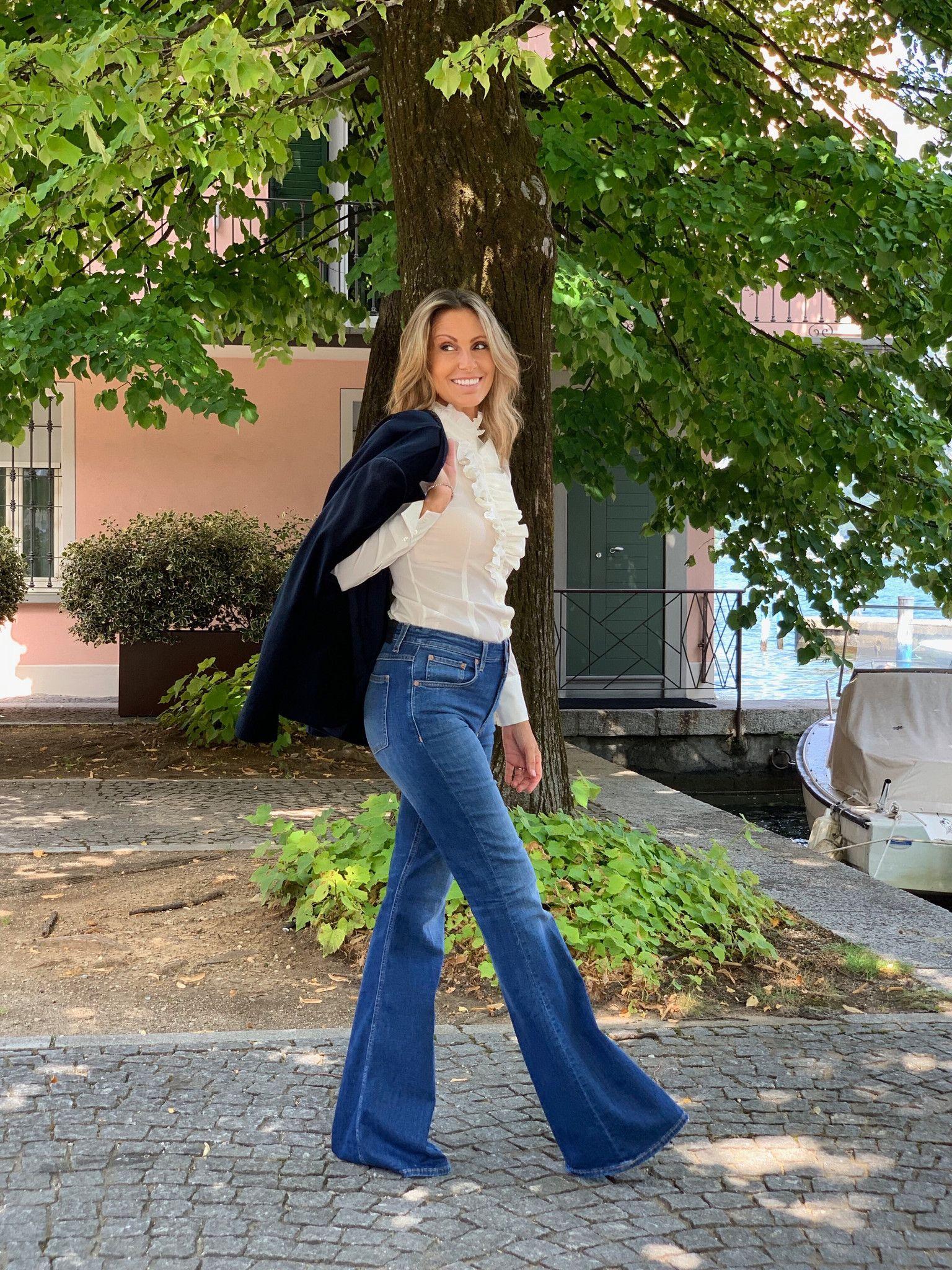 Jeans a zampa CLOSED