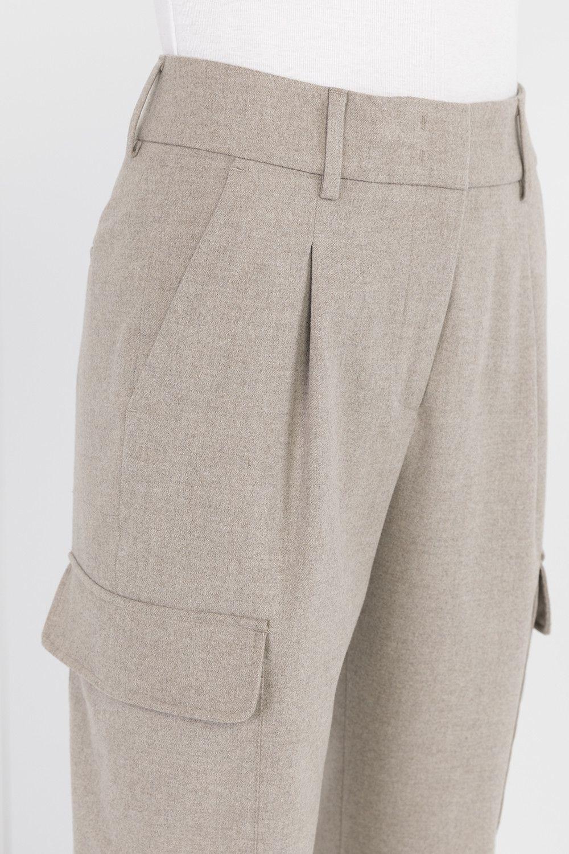 Pantalone tasconato fango CAPPELLINI