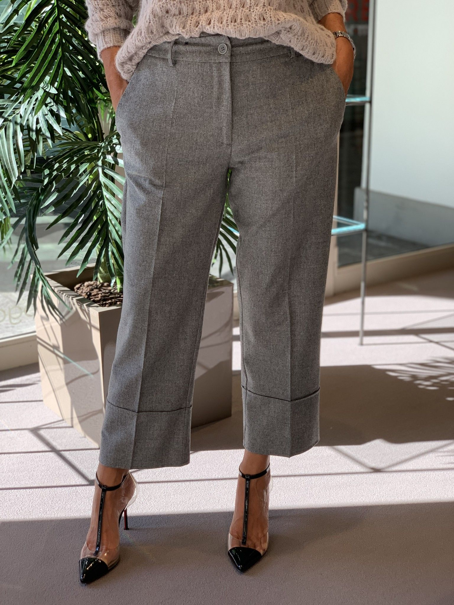Pantalone Emilia NG71 grigio