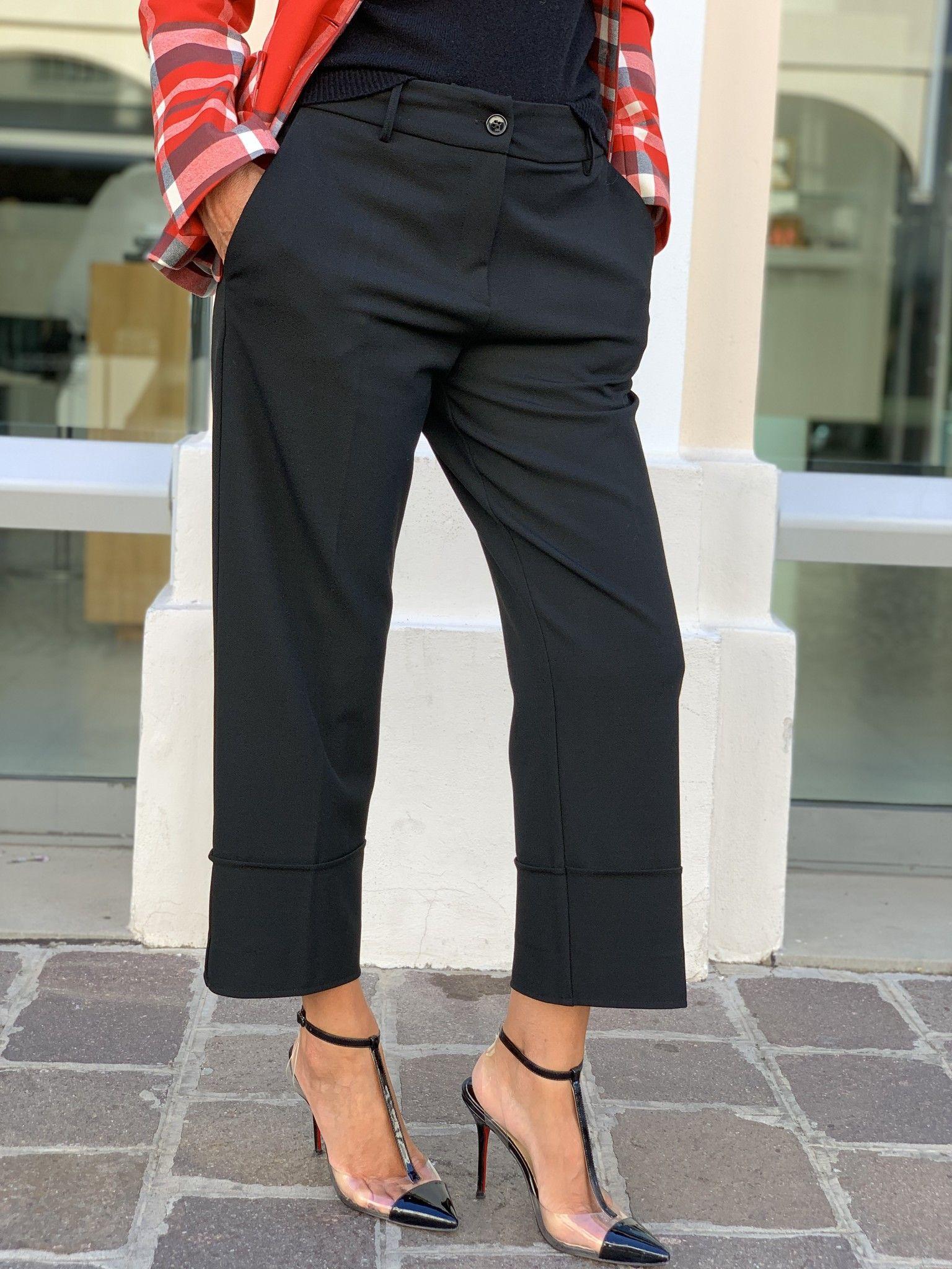 Pantalone Emilia NG71 nero
