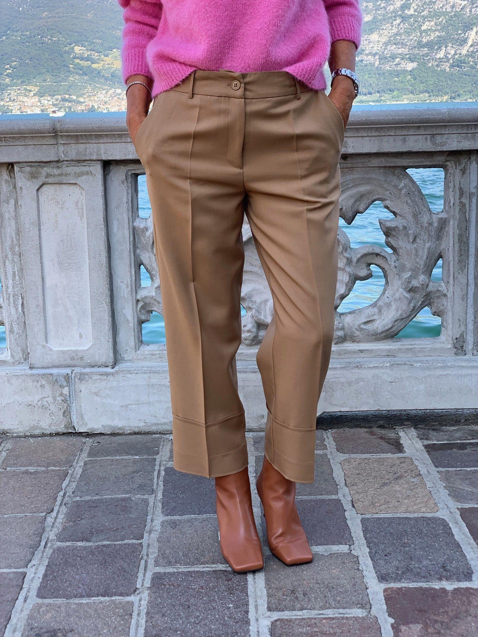 Pantalone Emilia NG71 cammello