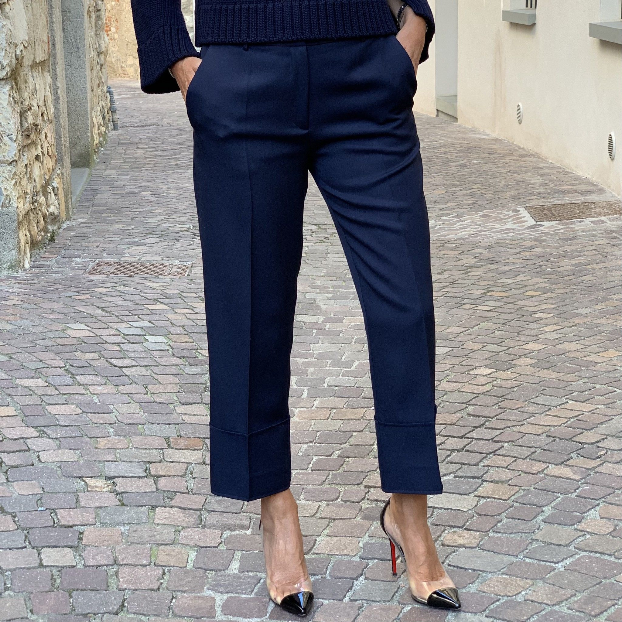 Pantalone Emilia NG71 blu